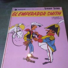 Cómics: LUCKY LUKE - EL EMPERADOR SMITH - GRIJALBO / JUNIOR - TAPA DURA - 1976. Lote 222114716