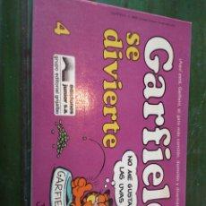 Cómics: CÓMIC GARFIELD -SE DIVIERTE- Nº4 EDICIONES JUNIOR S.A GRUPO EDITORIAL GRIJALBO. Lote 222197393