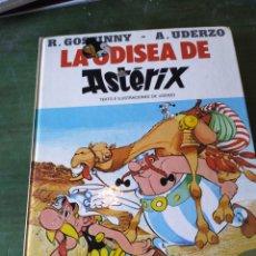 Cómics: LOTE 3 COMIC DE ASTERIX - EN LA INDIA, LA ODISEA DE ASTERIX, LA ROSA Y LA ESPADA. Lote 222201010