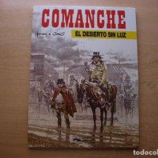 Cómics: COMANCHE - EL DESIERTO SIN LUZ - TOMO 5 - TAPA DURA - EDICIONES JUNIOR - NUEVO. Lote 222220771