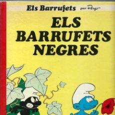 Cómics: PEYO - ELS BARRUFETS Nº 1 - ELS BARRUFETS NEGRES - EDICIONES JUNIOR 1983, 1ª EDICIO - DIFICIL. Lote 222231681