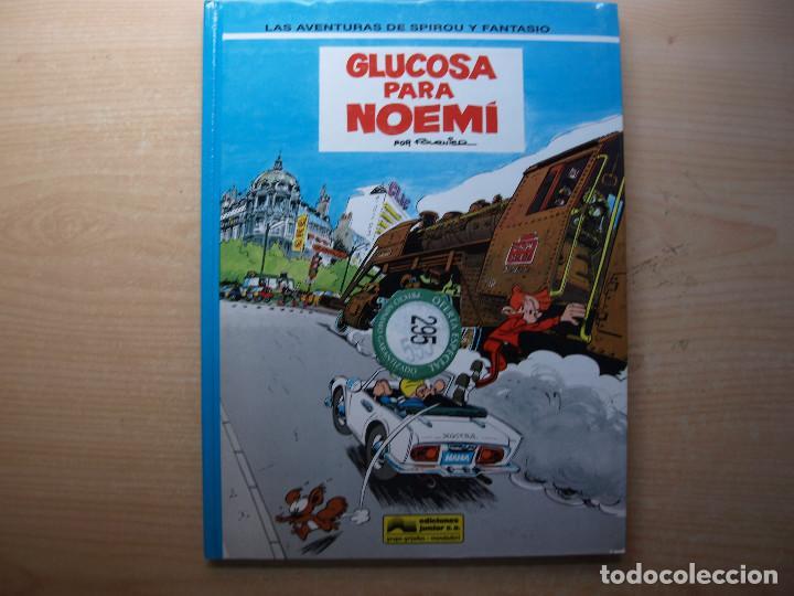 LAS AVENTURAS DE SPIROU Y FANTASIO - GLUCOSA PARA NOEMI - TOMO 34 - EDICIONES JUNIOR - (Tebeos y Comics - Grijalbo - Spirou)