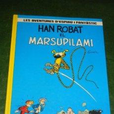 Cómics: AVENTURES D'ESPIRU I FANTASTIC 3 - HAN ROBAT EL MARSUPILAMI - ED.JUNIOR GRIJALBO 1987. Lote 222251475