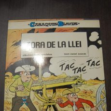 Cómics: FORA DE LA LLEI. CASAQUES BLAVES Nº 2. SALVERIUS & CAUVIN (CATALÁN). Lote 222253588