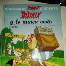 Cómics: ASTERIX Y LO NUNCA VISTO. Lote 222267488