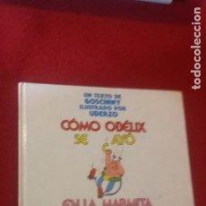 Cómics: ASTERIX - COMO OBELIX SE CAYO EN LA MARMITA DEL DRUIDA CUANDO ERA PEQUEÑO - GOSCINNY & UDERZO. Lote 222333680