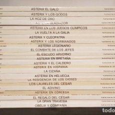 Cómics: 23 TOMOS DE ASTERIX Y OBELIX - DARGAUD / GRIJALBO - GUIÓN E ILUSTRACIONES DE UDERZO. Lote 222340692