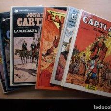Cómics: JONATHAN CARTLAND - LOTE DE 7 NÚMEROS - DEL 1 AL 8 FALATA EL 5 - TAPA DURA - GRIJALBO. Lote 222371596