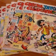 Cómics: CHICHA, TATO Y CLODOVEO. COLECCIÓN COMPLETA 6 TOMOS.. Lote 222378857