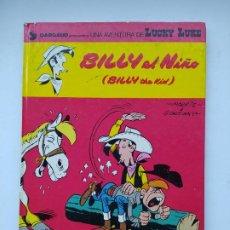 Cómics: LUCKY LUKE Nº 14.- BILLY EL NIÑO - 1980 GRIJALBO / DARGAUD. TDK521. Lote 222411270