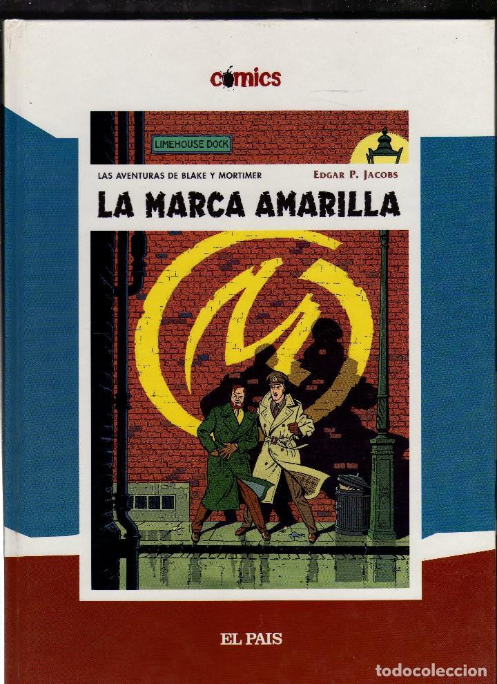 BLAKE Y MORTIMER - LA MARCA AMARILLA - POR EDGAR P. JACOBS · DIARIO EL PAÍS, 2005 (76 PÁGINAS) (Tebeos y Comics - Grijalbo - Blake y Mortimer)