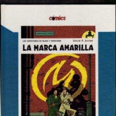 Cómics: BLAKE Y MORTIMER - LA MARCA AMARILLA - POR EDGAR P. JACOBS · DIARIO EL PAÍS, 2005 (76 PÁGINAS). Lote 222416376