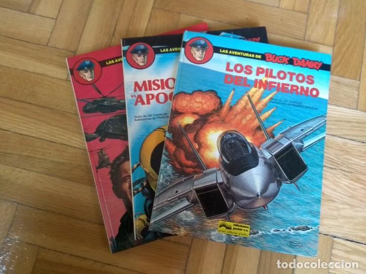 BUCK DANNY NºS 41 42 Y 43 - FALTA EL 44 PARA ESTAR COMPLETA (Tebeos y Comics - Grijalbo - Buck Danny)