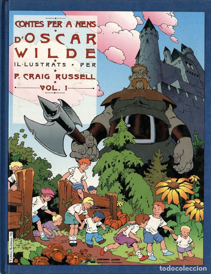 CONTES PER A NENS D'OSCAR WILDE (JUNIOR, 1992) DE CRAIG RUSSELL. EN CATALÀ. TAPA DURA. (Tebeos y Comics - Grijalbo - Otros)