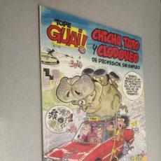 Cómics: TOPE GUAI! Nº 12: CHICHA, TATO Y CLODOVEO - EL ARCA DE NOÉ II / ED. JUNIOR - GRIJALBO. Lote 222530538