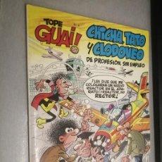 Cómics: TOPE GUAI! Nº 4: CHICHA, TATO Y CLODOVEO - EL NEGOCIETE / ED. JUNIOR - GRIJALBO. Lote 222530742
