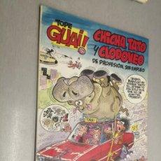 Cómics: TOPE GUAI! Nº 12: CHICHA, TATO Y CLODOVEO - EL ARCA DE NOÉ II / ED. JUNIOR - GRIJALBO. Lote 222532716