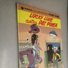 Comics : LUCKY LUKE CONTRA PAT POKER / GUIÓN ILUSTRACIÓN MORRIS / GRIJALBO DARGAUD 1994. Lote 222535992