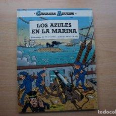 Cómics: CASACAS AZULES - LOS AZULES EN LA MARINA - TOMO 7 - TAPA DURA - EDICIOENS JUNIOR - BUEN ESTADO. Lote 222602881