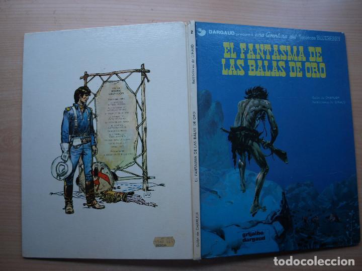 Cómics: BLUEBERRY - EL FANTASMA DE LAS BALAS DE ORO - TAPA DURA - GRIJALBO - AÑO 1981 - Foto 2 - 222692425