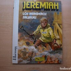 Cómics: JEREMIAH - LOS HEREDEROS SALVAJES - TOMO 3 - TAPA DURA - GRIJALBO - AÑO 1981 -. Lote 222695748