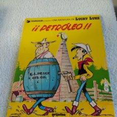 Comics : GRIJALBO /DARGAUD LUCKY LUKE Nº 37 PETROLEO ILUSTRACIONES DE MORRIS. Lote 222709171