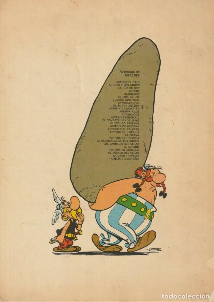Cómics: ASTERIX EL COMBATE DE LOS JEFES 1977 Grjalbo JUNIOR GOSCINNY UDERZO - Foto 2 - 222740191
