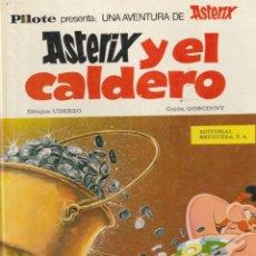 Cómics: ASTERIX Y EL CALDERO 1978 GRJALBO JUNIOR GOSCINNY UDERZO. Lote 222740630