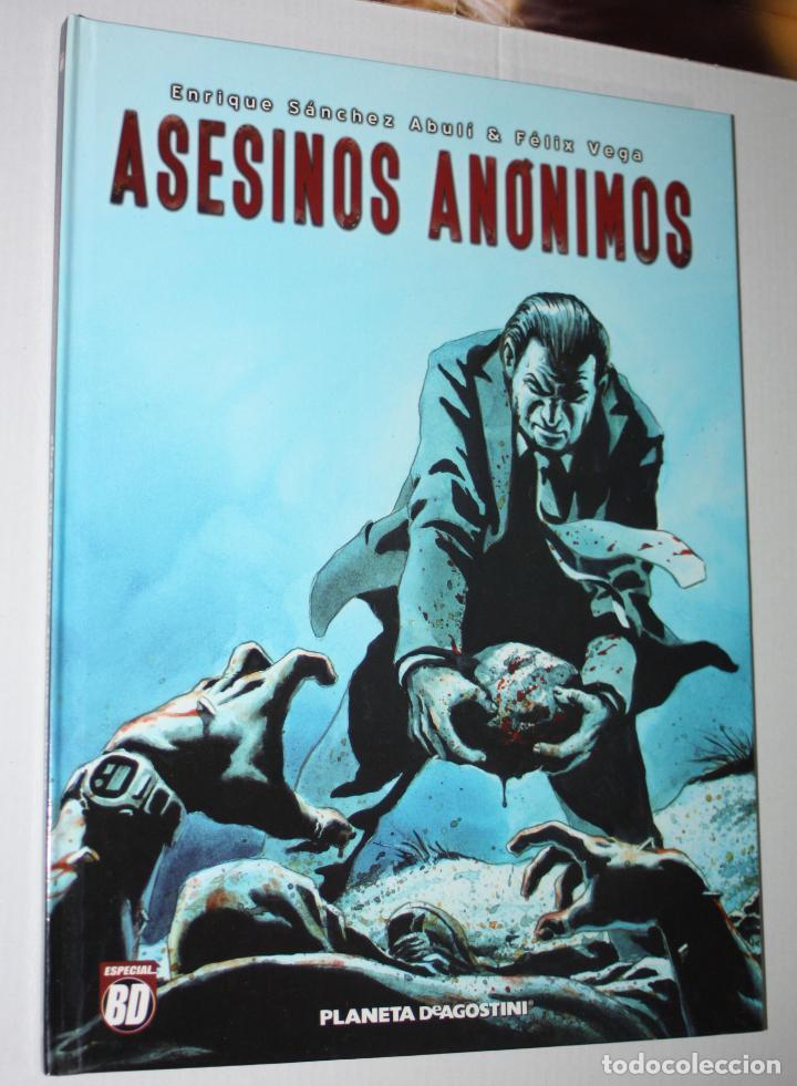 ASESINOS ANONIMOS (DE SÁNCHEZ ABULÍ & FÉLIX VEGA).- TAPA DURA- MUY BUEN ESTADO (Tebeos y Comics - Grijalbo - Comanche)