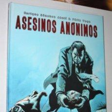 Cómics: ASESINOS ANONIMOS (DE SÁNCHEZ ABULÍ & FÉLIX VEGA).- TAPA DURA- MUY BUEN ESTADO. Lote 222772998