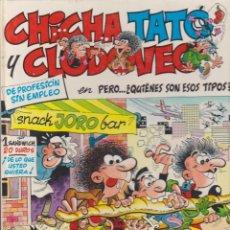 Cómics: COMIC TAPA DURA CHICHA TATO Y CLODOVECO EN PERO QUIEN SON ESOS TIPOS ?. Lote 222773272