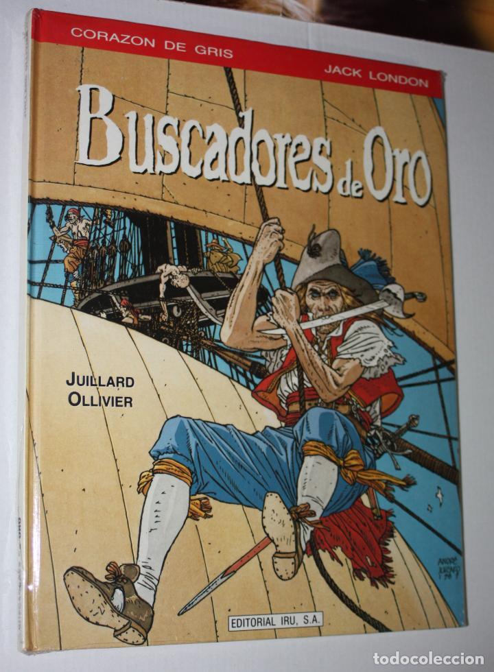 BUSCADORES DE ORO (DE JUILLARD & OLLIVIER).- TAPA DURA- PRECINTADO (Tebeos y Comics - Grijalbo - Comanche)