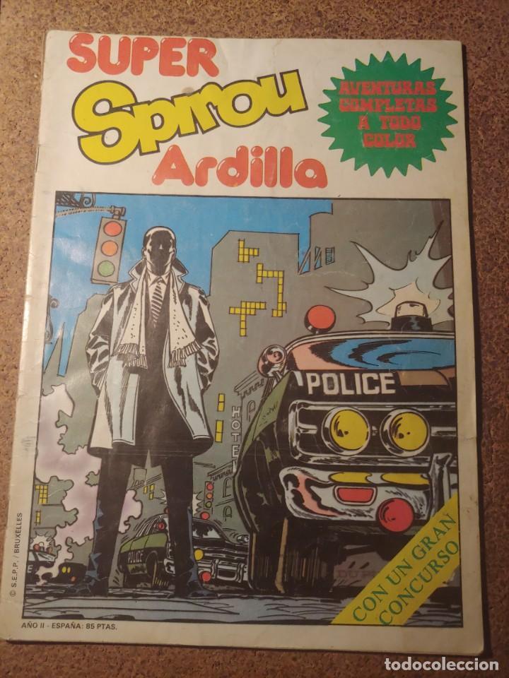 COMIC SUPER SPIROU ARDILLA Nº 7 (Tebeos y Comics - Grijalbo - Spirou)