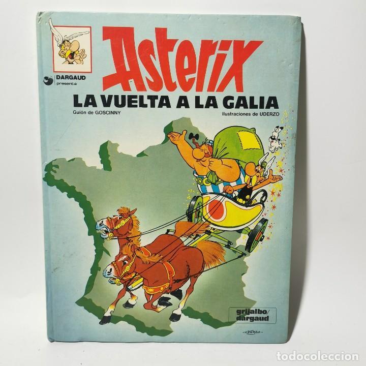 COMIC - ASTERIX - LA VUELTA A LA GALIA - UDERZO - GRIJALBO / 3387 (Tebeos y Comics - Grijalbo - Asterix)