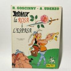 Cómics: COMIC - ASTERIX - LA ROSA I L'ESPASA - UDERZO - GRIJALBO / 3388. Lote 223130305