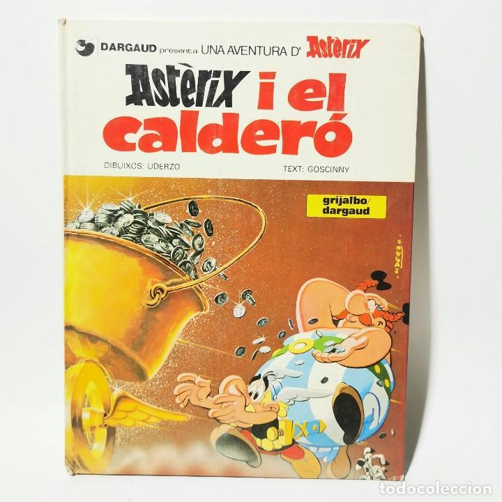 COMIC - ASTÈRIX I EL CALDERÓ - UDERZO - GRIJALBO / 3389 (Tebeos y Comics - Grijalbo - Asterix)