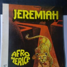 Cómics: CÓMIC JEREMIAH Nº 7 - AFROMERICA - HERMANN, ED. JUNIOR , VER FOTOS. Lote 223594308