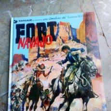 Cómics: TENIENTE BLUEBERRY Nº 16 FORT NAVAJO GRIJALBO-DARGAUD 1982. Lote 223618016