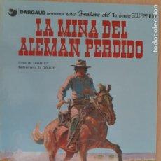 Cómics: TENIENTE BLUEBERRY Nº 1. LA MINA DEL ALEMÁN PERDIDO. CHARLIER - GIRAUD. GRIJALBO DARGAUD 1981. Lote 223978327