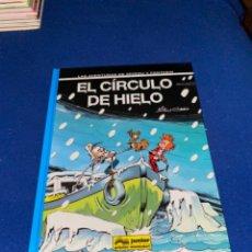 Cómics: SPIROU Y FANTASIO EL CIRCULO DE HIELO ( NIC CAUVIN) ¡MUY BUEN ESTADO! TAPA DURA GRIJALBO 42 JUNIOR. Lote 224064925