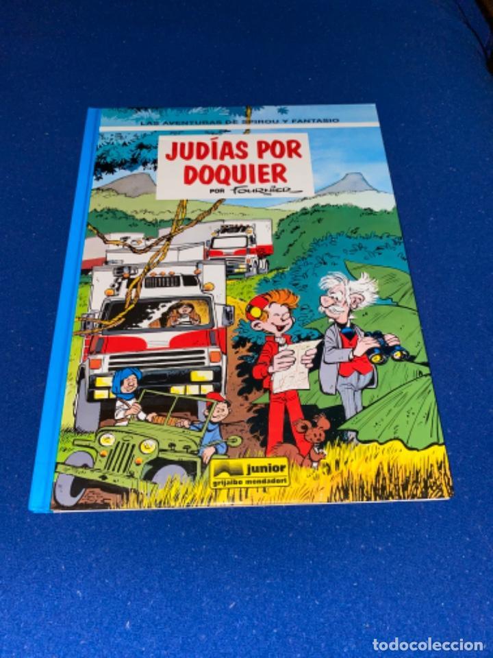 SPIROU Y FANTASIO Nº 41 JUDIAS POR DOQUIER ED. JUNIOR 1982 48 PÁGINAS NUEVO Y NUNCA LEÍDO (Tebeos y Comics - Grijalbo - Spirou)