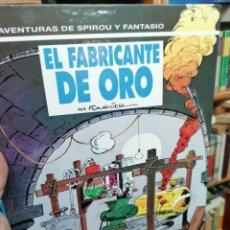 Comics : SPIROU Y FANTASIO. N. 33. EL FABRICANTE DE ORO. Lote 224075461
