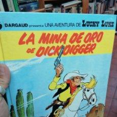 Cómics: LUCKY LUKE. N. 49. LA MINA DE ORO DE DICK DIGGER. Lote 224075866