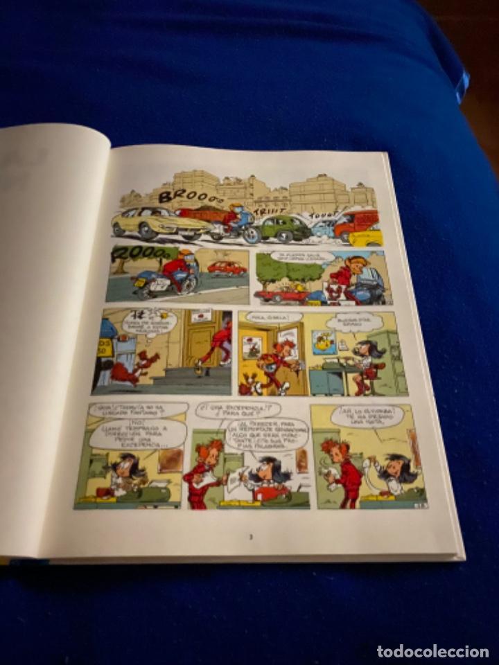 Cómics: LAS AVENTURAS DE SPIROU Y FANTASIO 44: LA CAJA NEGRA, 1996, impecable - Foto 3 - 224102621