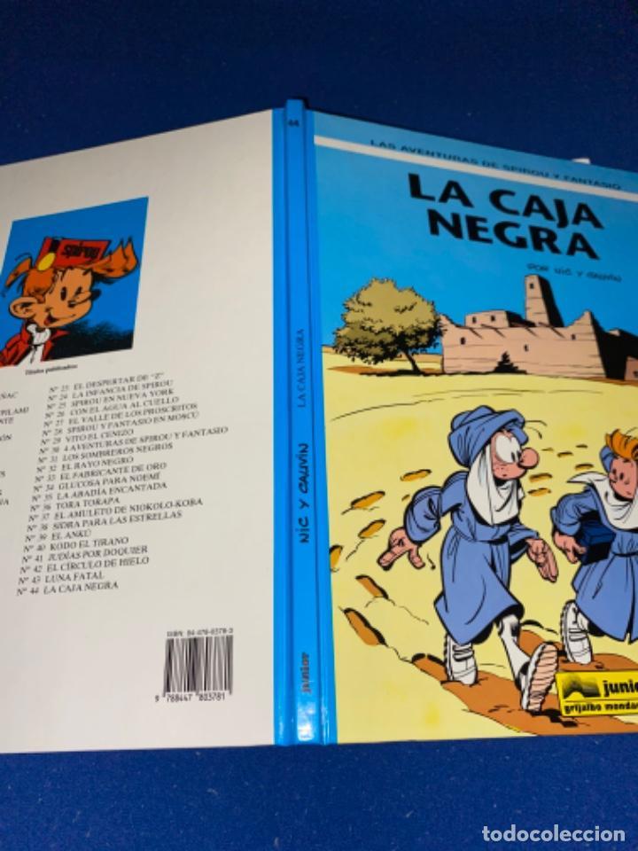 Cómics: LAS AVENTURAS DE SPIROU Y FANTASIO 44: LA CAJA NEGRA, 1996, impecable - Foto 8 - 224102621