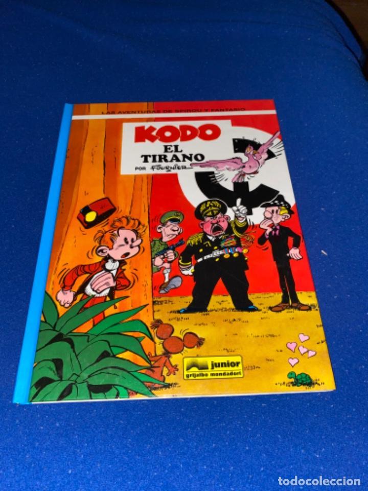 KODO EL TIRANO - LAS AVENTURAS DE SPIROU Nº 40 - JUNIOR GRIJALBO 1995, 1ª EDICION - COMO NUEVO (Tebeos y Comics - Grijalbo - Spirou)