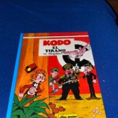 Cómics: KODO EL TIRANO - LAS AVENTURAS DE SPIROU Nº 40 - JUNIOR GRIJALBO 1995, 1ª EDICION - COMO NUEVO. Lote 224107713