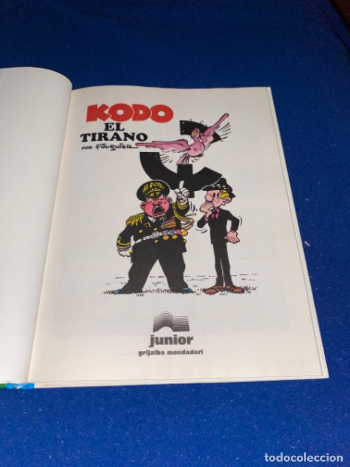 Cómics: KODO EL TIRANO - LAS AVENTURAS DE SPIROU Nº 40 - JUNIOR GRIJALBO 1995, 1ª EDICION - COMO NUEVO - Foto 2 - 224107713
