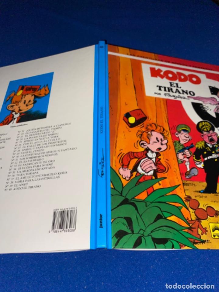 Cómics: KODO EL TIRANO - LAS AVENTURAS DE SPIROU Nº 40 - JUNIOR GRIJALBO 1995, 1ª EDICION - COMO NUEVO - Foto 7 - 224107713