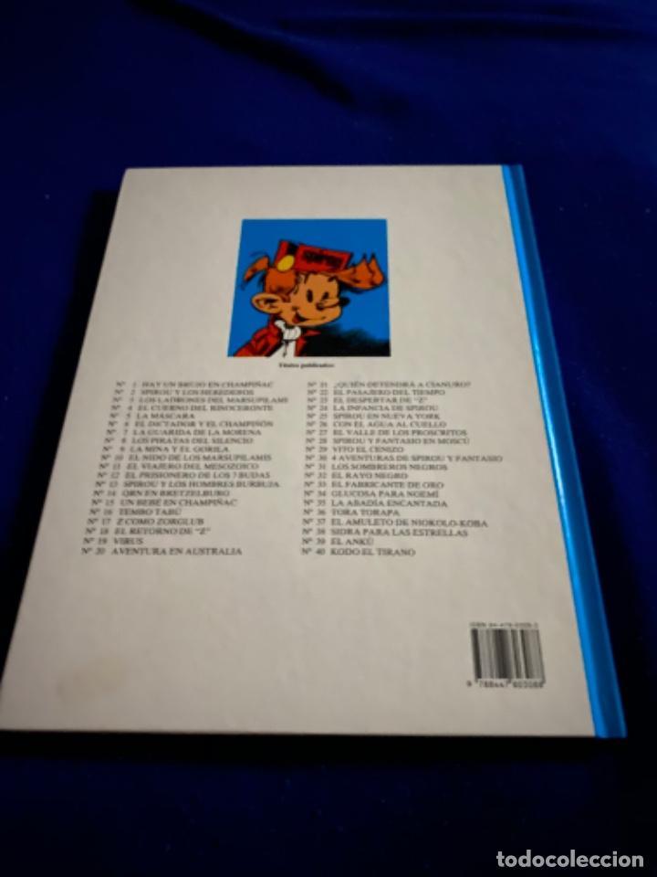 Cómics: KODO EL TIRANO - LAS AVENTURAS DE SPIROU Nº 40 - JUNIOR GRIJALBO 1995, 1ª EDICION - COMO NUEVO - Foto 8 - 224107713